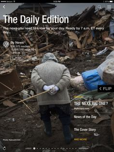 Warnings of the next big earthquake, parenting debate and best pictures from London Fashion Week. Check out today's edition: flip.it/dailyedition