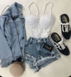 Girls Fashion Clothes, Teen Fashion Outfits, Outfits For Teens, Summer Clothing, Diva Fashion, Work Outfits, Fashion Women, Style Fashion, Cute Lazy Outfits