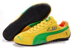 http://www.jordanaj.com/mens-puma-fur-in-yellow-green-black-online.html MEN'S PUMA FUR IN YELLOW/GREEN/BLACK ONLINE Only $77.00 , Free Shipping!