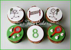 Badminton Cupcakes by www.jellycake.co.uk, via Flickr