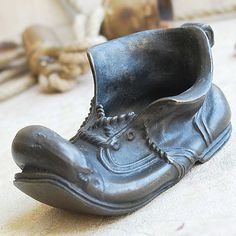 vintage  brass shoe...    home decor... Jul 07 by CoolVintage, $25.50