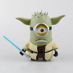 aeProduct.getSubject() Minions Star Wars, Minion Avengers, Star Wars Cake Toppers, Star Wars Cookies, Despicable Minions, Cute Minions, Minions Images, Minion Mayhem, Star Wars Luke Skywalker