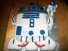 My son R2-D2 cake he loved it.