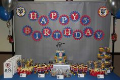 Transformers Birthday Party Ideas | Photo 6 of 22 | Catch My Party