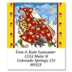 Check Cherry SantaSelect Address Labels $8.99 Now $2.69