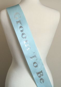 Sash, Bachelor Party Sash, Bachelor Sash, Bachelor Party,Bridal Gift, Wedding Gift, Fun Party Sash, Groom To Be