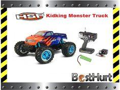 Kidking Monster Truck 4x4 Oryginalny HSP RTR FILM