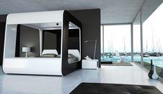Deisgn Hightech Bedroom pour le geek bling bling http://enpundit.com/2011/hi-tech-luxury-bed