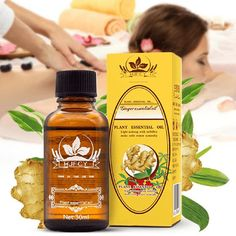 Lymphatic Drainage Ginger Massage Oil is a great natural solution for lymphatic drainage, edema, spider veins and varicose veins. Extracted from ginger root, ginger oil benefits you by relieving swelling Natural Health Remedies, Herbal Remedies, Home Remedies, Ginger Essential Oil, Essential Oils, Natural Kitchen, Coconut Health Benefits, Herbal Oil, Oil Benefits