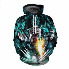 Dragon Ball Super 2018 Hoodies Men Women Cosplay Streetwear
