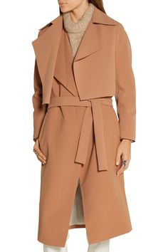 Shop on-sale By Malene Birger Pasinios convertible crepe trench coat. Browse other discount designer Coats & more on The Most Fashionable Fashion Outlet, THE OUTNET.COM