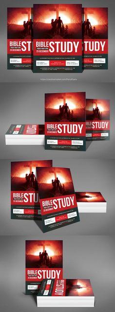The Bible Study Church Flyer