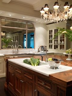 Things We Love: Mirrors In Kitchens