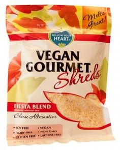 Follow Your Heart has announced a new line of Vegan Gourmet Shreds.  These dairy-free cheeses are also soy-free, gluten-free and non-GMO.