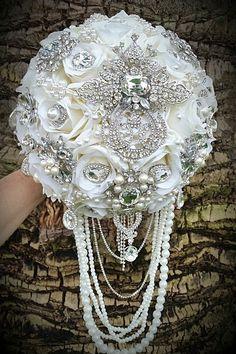HEIRLOOM BOUQUET Deposit for a Gorgeous by Elegantweddingdecor