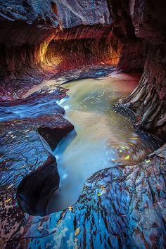 Subway @ Zion National Park {Explore}, via Flickr.
