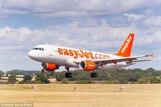 An easyJet flight from Liverpool to Spain had to be diverted after the plane was hit by a bird which got stuck in its engine.The incident happened soon after flight EZY7179 took off (not pictured, file photo)