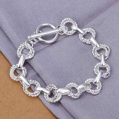 Sterling Silver Necklace  SilverRingEngravedInside   SilverNecklaceGoldPlated Pulseiras Com Pingentes facf71e4f957