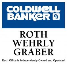 Coldwell Banker Roth Wehrly Graber #1 Real Estate Agency Fort Wayne Indiana. Sell your house with us or find your next home. Call Coldwell Banker first!
