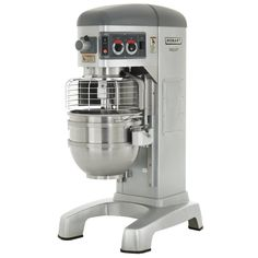 All purpose mixer used to combine all ingredients of each cupcake recipe into a standard, consistent blend for baking. The kitchen will have two of these for maximum blend mixes.