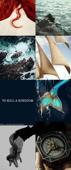 """In my heart, I'm as wild as the ocean that raised me."" - Alexandra Christo, To Kill a Kingdom #books #bookstagram #bookstagrammer #lira #elian #prince #siren #mermaids #redhair #pirate #ocean #sea #sunset #libri #review #libridaleggere #fanart #aesthetic #sky #blue #lasirenetta #bookstagramfeature #fantasy #blogger #bookblogger #italian #sirene #piratideicaraibi"