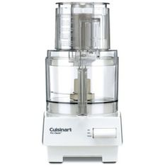 Cuisinart Pro Classic 7 Cup Food Processor: The Cuisinart has been designed for the baker. Incorporating a 14 cup work bowl and a super wide feed tube, this is one the highest capacity food processor in the market. The combo of slicing and shredding discs that you'll get with this processor are also amazing and can chop/mix the contents with fluidity.
