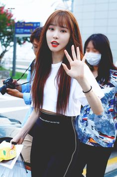 Gfriend Yuju, G Friend, Girl Wallpaper, Airport Style, Korean Girl, Girl Group, Girlfriends, Kpop, My Love