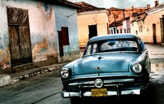 This looks like Bapi's car.  This image is from Cuba