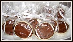 Superbowl Party Favors: Sugar Cookies