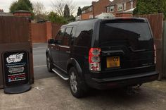 2009 Land Rover Discovery in for 18% Carbon tints to the rear