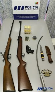 ABRANTES NA FRENTE: PSP DETEM SUSPEITO POR PRÁTICA DE VIOLÊNCIA DOMÉST... Scout Rifle, Firearms