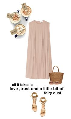 """""""fairy dust"""" by mimaspics ❤ liked on Polyvore featuring Sensi Studio, Ancient Greek Sandals and Barton Perreira"""