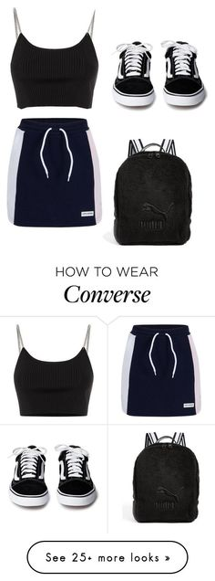 """OWF"" by bernadette-dorbu on Polyvore featuring Converse, Alexander Wang and Puma"