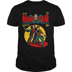 Supernatural Tees  Hunter
