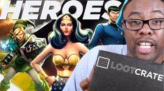 "LOOTCRATE ""HEROES 2"" Unboxing (July 2015) : Black Nerd"