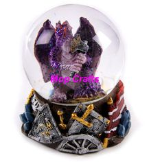 snow globes | China Polyresin Dragon Snow Globe, Resin Dragon Crafts - large image ...