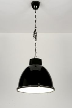 Amazing Pendant Lamp Modern Industrial Look Aluminium Black