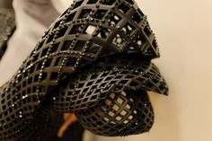 3ders.org - The first fully 3D printed dress | 3D Printer News & 3D Printing News