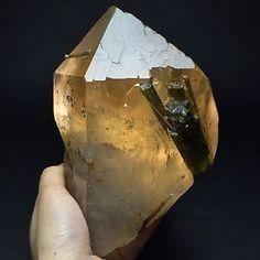 1541g Natural Green Tourmaline Gems Based on Skeletal Elestial QUARTZ,Pakistan #ad #minerals #tourmaline #gems #crystals