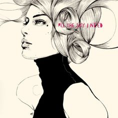 beautiful fashion illustrations of Spanish artist Manuel Rebollo