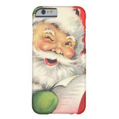 Vintage Christmas Santa Claus Barely There iPhone 6 Case http://www.zazzle.com/vintage_christmas_santa_claus_case-256495498086093780?rf=238675983783752015