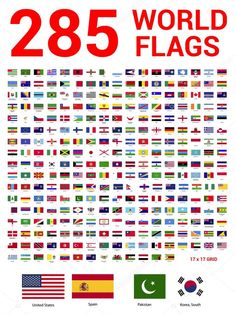 World Flags With Names, Flags Of The World, World Country Flags, Country Maps, Map Of Continents, General Knowledge For Kids, Free Online Tv Channels, Free Playlist, 30 Day Writing Challenge