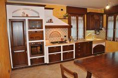 cucina muratura rustica | Kitchen | Pinterest