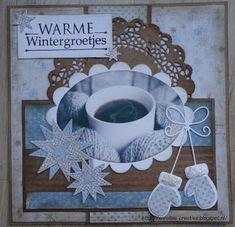 Caroline's Creaties: Warme wintergroetjes