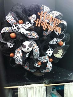 jack skellington wreath by tanya in our voorhees nj store visit your local ac