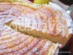 Tarte alsacienne au fromage blanc, aux raisins secs et au citron