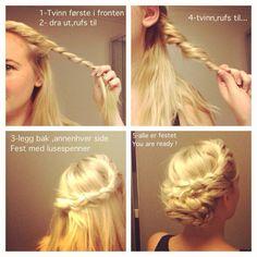 Oppsetting - 1,2,3 !!! Hair