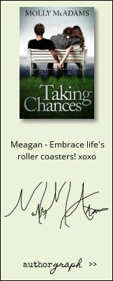 """Authorgraph from Molly McAdams for """"Taking Chances"""""""