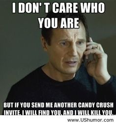 Candy crush funny saying