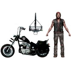 McFarlane Toys Action Figure - The Walking Dead AMC TV Series  - DARYL with Chopper (Ships March)